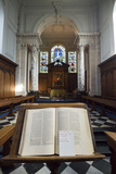 A Bible on a Stand in Pembroke College Chapel, Cambridge University, England Photographic Print by Jonathan Kingston