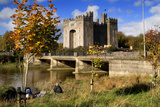 Bunratty Castle on the River Shannon in County Clare, Ireland Photographic Print by Chris Hill