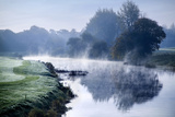 Mist on the River Maigue at Adare, County Limerick, Ireland Photographic Print by Chris Hill