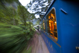 Hiram Bingham Express Train to and from Machu Picchu, Peru Photographic Print by Michael Melford