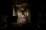 An Abandoned Building in Yekaterinburg Fotografisk tryk af Aaron Huey