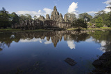Bayon, the Premier Temple Within Angkor Thom Photographic Print by Scott S. Warren