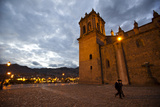 Plaza De Armas and the Cathedral in Cuzco Photographic Print by Michael Melford