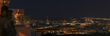 A Panoramic View of Vienna, Austria at Night Photographic Print by Babak Tafreshi