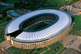 An Aerial View of Olympic Stadium, Olympiastadion, in Berlin Photographic Print by Marcello Bertinetti