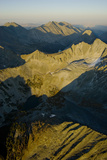 A Sunset Illuminates the Rugged and Seldom-Visited Crazy Mountains Photographic Print by Gordon Wiltsie