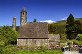Glendalough in County Wicklow, Ireland Papier Photo par Chris Hill