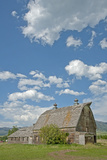 An Old Barn Decays on the Edges of Bozeman, Montana Photographic Print by Gordon Wiltsie