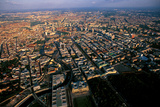 An Aerial View of the Reichstag, the West Gate of Berlin, and the Surrounding Cityscape Photographic Print by Marcello Bertinetti