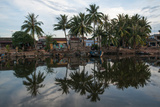 River View of Homes in Danang, Vietnam Photographic Print by Karen Kasmauski