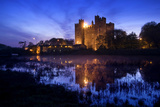 Bunratty Castle by the River Shannon at Dusk Photographic Print by Chris Hill