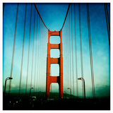 South Tower of the Golden Gate Bridge Photographic Print by Skip Brown