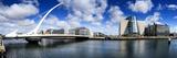 The Samuel Beckett Bridge in Dublin Fotografisk tryk af Chris Hill