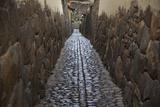 A Narrow Stone Street in Ollantaytambo Photographic Print by Michael Melford