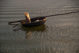 Paddling across River in the Danang Area of Vietnam Photographic Print by Karen Kasmauski