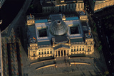 An Aerial View of the Reichstag, at Sunset Photographic Print by Marcello Bertinetti