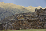 Incan Stone Walls, Part of a Temple and Palace Complex, Built 1480 Photographic Print by Beth Wald