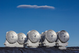 Antennas at the Atacama Large Millimeter/Submillimeter Array, Alma Photographic Print by Dave Yoder