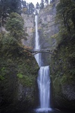 Falls on Multnomah Creek in the Columbia River Gorge Photographic Print by Macduff Everton