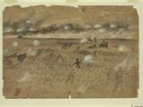 The 1862 Battle of Fredericksburg, Virginia Photographic Print by  Library Of Congress