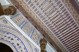 A Portion of an Inlaid Tile Arch and Ceiling Photographic Print by Michael Melford