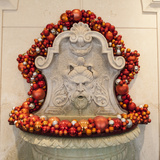 Christmas Decorations in the Lobby of a Hotel Photographic Print by Richard Nowitz