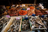 Seafood for Sale on Display in Paris, France Photographic Print by Chris Bickford