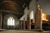 Langley Chapel, a 17th Century Anglican Parish Church Photographic Print by Jim Richardson