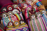 Woven Dolls Nesting in Colorful Woven Baskets Photographic Print by Michael Melford