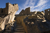 The Temple of the Condor, a Stunning Example of Inca Stonemasonry at Machu Picchu Photographic Print by Diane Cook Len Jenshel