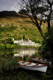 Kylemore Abbey in Connemara Photographic Print by Chris Hill