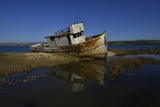 The Wreck of a Fishing Boat Photographic Print by Raul Touzon