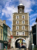 The Georgian Clock Tower in Youghal, County Cork Photographic Print by Chris Hill