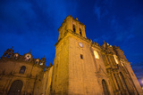 The Cuzco Cathedral at Dusk Photographic Print by Michael Melford