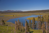 The Yellowstone River Flows Through Hayden Valley Photographic Print by Gordon Wiltsie