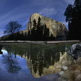El Capitan Reflected in the Merced River Photographic Print by Raul Touzon
