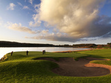 Golfing in Lough Erne, Fermanagh Photographic Print by Chris Hill