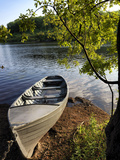 A Rowing Boat on Lough Oughter in Cavan Photographic Print by Chris Hill