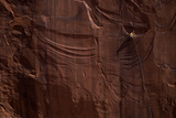 A Rock Climber Conception in Day Canyon Outside Moab Photographic Print by Cory Richards