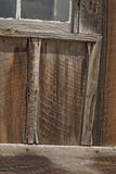 Old Weathered Wood Covers the Wall of a Building Photographic Print by Gordon Wiltsie