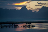 Tahiti at Sunset Photographic Print by Karen Kasmauski