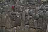 Part of the Ruins of Sacsayhuaman Walled Complex Photographic Print by Michael Melford