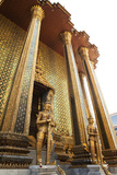 Entrance to Wat Phra Kaew, Home of the Emerald Buddha Photographic Print by Keith Barraclough