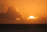 Sunset in Bora Bora Photographic Print by Karen Kasmauski