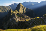 A Sunrise View of the Citadel at Machu Picchu Photographic Print by Diane Cook Len Jenshel