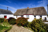 An Irish Thatched Cottage in County Wexford, Ireland Photographic Print by Chris Hill