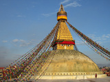 The Bodhnath Stupa in Kathmandu Photographic Print by Martin Gray
