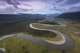 The Cascade River in Mount Aspiring National Park Fotografisk trykk av Michael Melford
