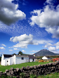 Farm Houses Silent Valley in the Mournes Photographic Print by Chris Hill