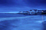 Dusk Descends on Port Charlotte, Port Sgioba in Gaelic Photographic Print by Jim Richardson